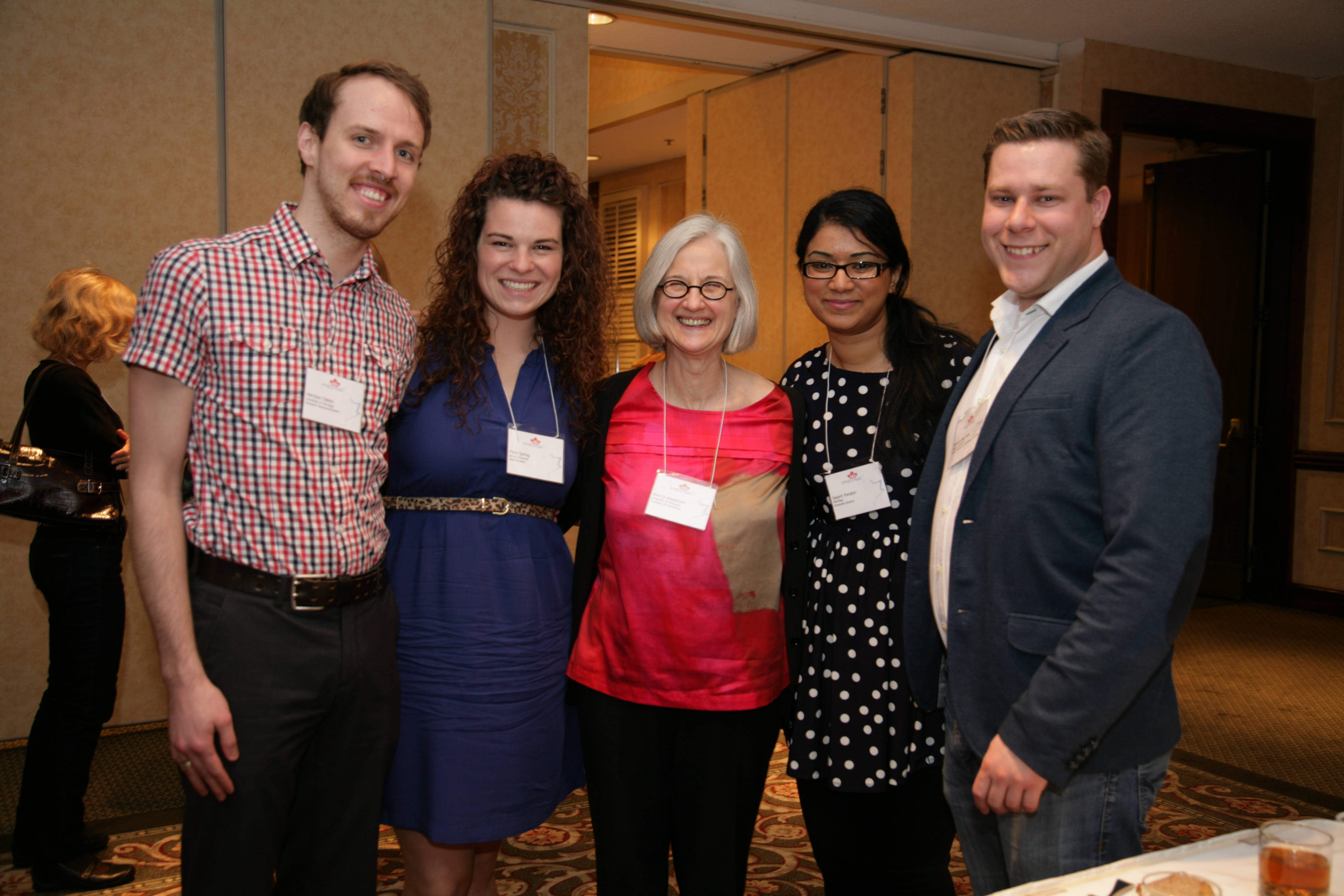 Dr. Josephson pictured at PREVNet Conference with Graduate Students